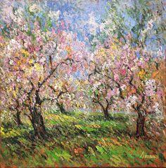 Cherry Blossom, Central Park by Samir Sammoun