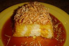 come-se: Receita do Mocotó, continuação – Pudim de tapioca com calda de coco queimado