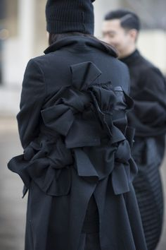 Comme des Garcons • Paris Fashion Week • Photo by Julien Boudet • bleumode.com