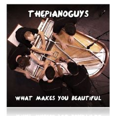 What Makes You Beautiful cover... this was amazing video 5 guys 1 piano