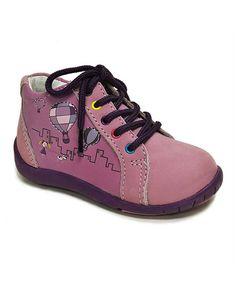 Look what I found on #zulily! Light Purple Bella Leather Sneaker #zulilyfinds