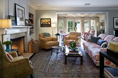 Kristin Panitch Interiors-comfortable style in this designer!