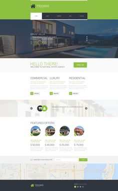 Website Theme , Real Estate Agency