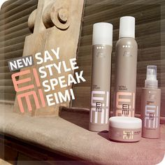 Wella Professionals EIMI - New Styling Line.