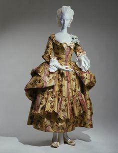 Dress and Petticoat. Date: 1775-1785