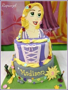 Idea: Cutout of any character's head with the cake as their body...