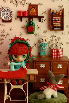 petites' craft room  By tomocho★