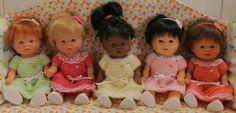 Tuto robe pour bébé d'nénès, Asivil ou pour poupée Corolline (20 - 21 cms)