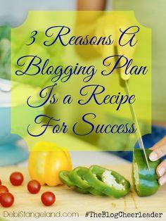 Blogging Plan=Recipe for Success