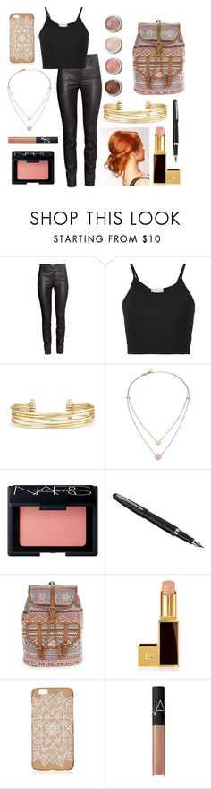 """""""Clary Fray Outfit!"""" by besties-style ❤ liked on Polyvore featuring H&M, Lost & Found, Stella & Dot, Terre Mère, Michael Kors, NARS Cosmetics, Fountain, Accessorize and Tom Ford"""