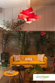 #steellayer #decor #decoracao #projeto #especial #special #interior #ambiente #livingroom #room #comfort #conforto #inovacao #exclusividade #inovacao #design #art #lustre #moveis