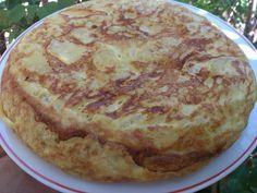Tortilla de patatas o...tortilla a máquina