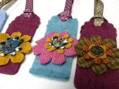 Wool bookmarks!