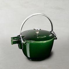Staub Cast-Iron Round Tea Kettle #williamssonoma