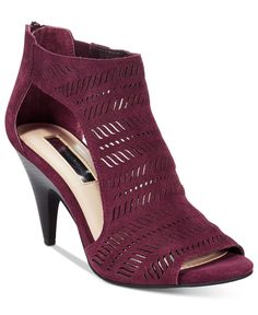 INC International Concepts Women's Granell Perforated Shooties, Only at Macy's