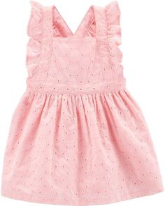 eddf6b9f43 Baby Girl Embroidered Eyelet Dress from Carters.com. Shop clothing    accessories from a