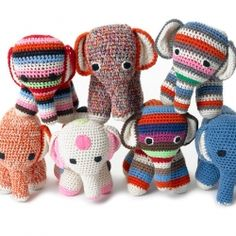 Colorful, handmade, knitted toys from dutch designer Anne-Claire Petit. The toys are made by Asian women in their homes, a way to generate a...