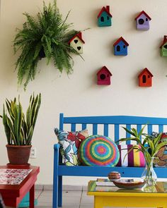 30 Fantastic Balcony Decorations – Knitting And We Indian Room Decor, Ethnic Home Decor, Small Balcony Decor, Balcony Design, Small Patio Design, Diy Wall Decor, Diy Home Decor, Home Entrance Decor, Garden Deco