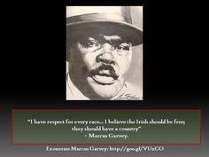 Marcus Garvey: The Irish Connection. Happy St. Patrick's Day