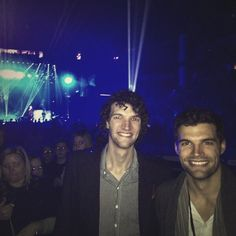 for KING & COUNTRY G'day from the @BrdgstoneArena in Nashville! Felt like coming home @winterjamtour.
