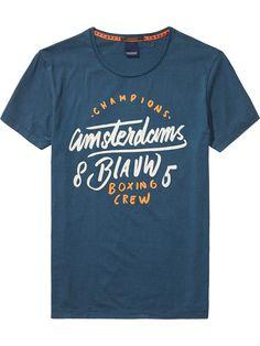 Von Hand bemaltes T-Shirt