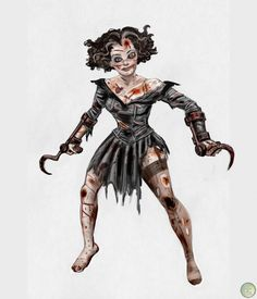 female splicer bioshock - Google Search