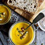 Soupe orange réconfortante / Carotte, courge butternut & curcuma