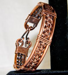 Upcycled Braided Copper Bracelet Lovely Wire by TheLastLink, $35.00