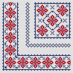 Cross Stitch Cushion, Small Cross Stitch, Cross Stitch Rose, Cross Stitch Borders, Modern Cross Stitch, Cross Stitch Charts, Cross Stitch Designs, Cross Stitching, Cross Stitch Patterns