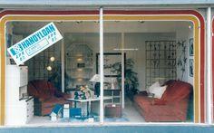 1960s window display. 1960s, Home Appliances, Windows, Display, House Appliances, Floor Space, Billboard, Sixties Fashion, Appliances