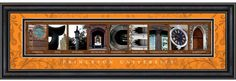 The pictures spell Princeton!  All taken on the beautiful campus of Princeton University.  Great #graduation gift.  @Vanessa Princeton
