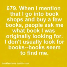 That's how I got most of my books