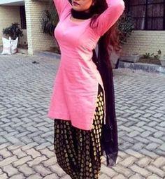 Shop online for beautifull pink punjabi salwar suit at best price. Buy beautifull pink punjabi salwar suit and get 11.36% Discount by nivetas on Kraftly.