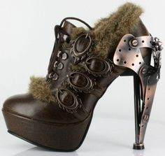 Steampunk Shoe #absolutelylovetheseshoes