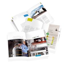 Esprit - Magazine aziendale per GDF SUEZ #magazine #gdfsuez #energy #people #interview #layout #copy
