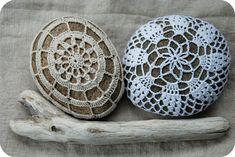 Pineapple Crochet Rock and Friend