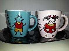Printed mugs.☺