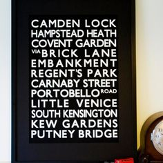 Betsy Benn 'London Destination' Print £46.00