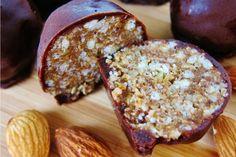 Almond Maple Crunch Truffles [Vegan, Raw]