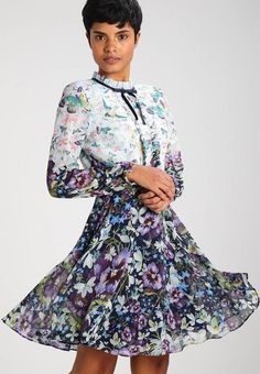 0b8ac72bc36 MEELIA - Summer dress - dark bkue - Zalando.co.uk. Colourful OutfitsColorful  FashionTed Baker ...