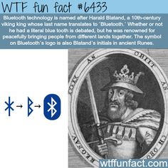 The meaning behind the Bluetooth symbol - WTF fun facts