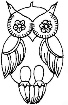 tattoo owl coloring pages - photo#32