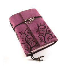 Überwachsen - Tagebuch, Leder, Journal