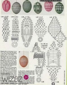 Discover recipes, home ideas, style inspiration and other ideas to try. Crochet Diagram, Crochet Motif, Crochet Designs, Crochet Doilies, Crochet Christmas Ornaments, Holiday Crochet, Crochet Snowflakes, Easter Crochet Patterns, Crochet Birds