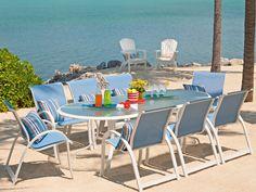 Telescope Casual Aruba Il Sling Dining Set | ARBA2DIN1