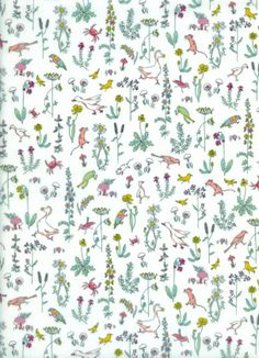 Liberty of London Contemporary Classic Tana Lawn Theo Cream Sewing Baby Clothes, Baby Clothes Patterns, Fabric Patterns, Print Patterns, Baby Sewing, Sewing Patterns, Cotton Lawn Fabric, Patchwork Fabric, Contemporary Classic
