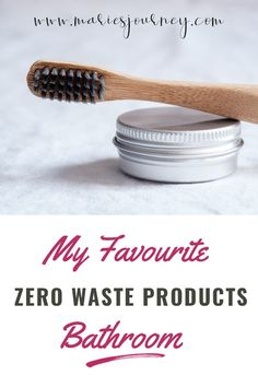 Looking for some sustainable, zero waste products for your bathroom? I'm sharing some of my favourites on the blog today!