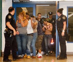 Threatening teens | Image source: Nydailynews.com