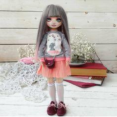 Я обещаю что больше не буду показывать вам эту куклуЧеееестно-Честно Просто она в ботиночках и с  сумкой ещё не показалась вам.