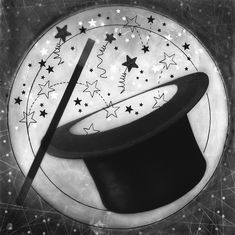 Carol Golemboski — Fraction Magazine Sleight Of Hand, Vintage Props, White Magic, Fractions, The Conjuring, The Magicians, Illusions, Art For Kids, Original Artwork